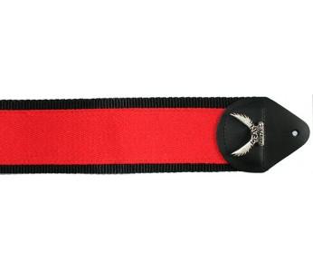 Dean Guitars red-black guitar strap
