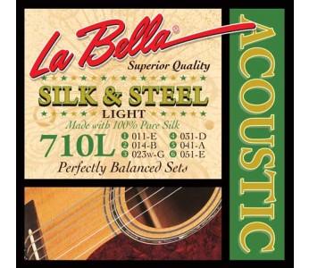 Guitar Patrol - La Bella 710L Silk & Steel