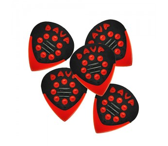 Guitar Patrol - Dava Jazz Grip - Red