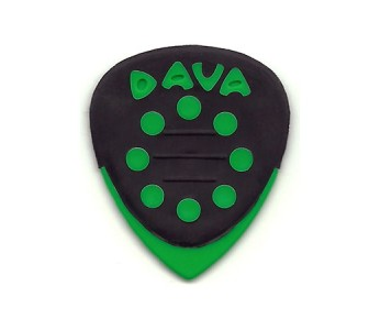 Guitar Patrol Dava Control Grip Tip - Green