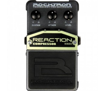 Guitar Patrol - Rocktron Reaction series Compressor pedal for guitar