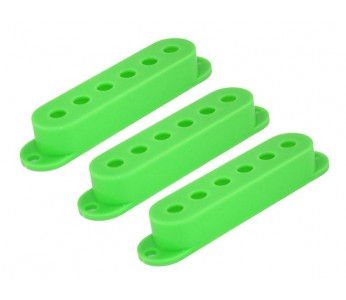 Guitar Patrol - Guitar Patrol - Allparts PC-0406-029 Set of 3 Green Pickup Covers for Stratocaster®