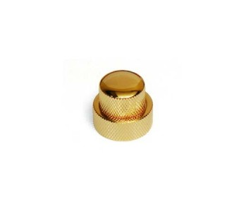 Allparts Concentric Stacked Knob Gold w/set screws