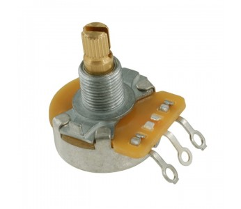 Guitar Patrol - 250K Potentiometer, CTS, knurled Shaft