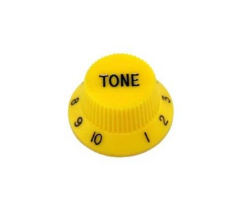 Guitar Patrol - Allparts Yellow tone knob, strat and other guitars