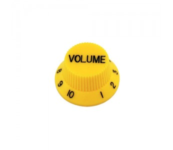 Guitar Patrol - Allparts USA Yellow Strat Volume knob