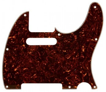 Guitar Patrol - Allparts 3-ply tortoise Telecaster pickguard