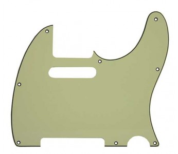 Guitar Patrol - Allparts 3-ply mint pickguard for Telecaster