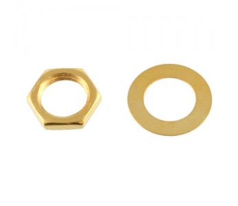 Guitar Patrol - Allparts EP-0654-002 Gold Nuts and Washers
