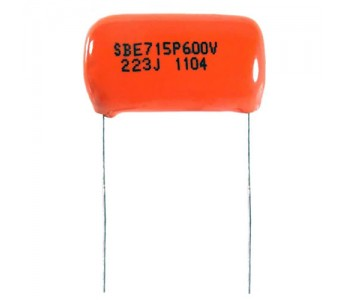 "Guitar Patrol - Allparts Sprague ""Orange Drop"" .022 mfd 600V Capacitor (3 pcs)"