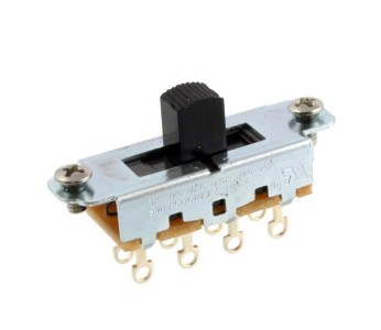 Guitar Patrol - Switchcraft On-Off-On Slide Switch for Mustang