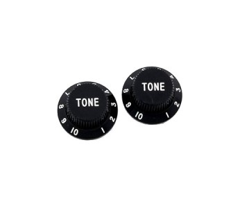 Guitar Patrol - Allparts tone knob, strat-style, black