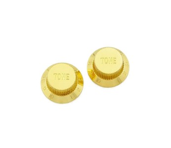 Guitar Patrol - Allparts gold plastic tone knob for strats and other guitars