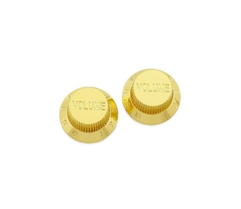 Guitar Patrol - Allparts gold plastic volume knob for strat-style guitars