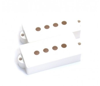 Virgo P-Bass® Pickup Covers Set  White
