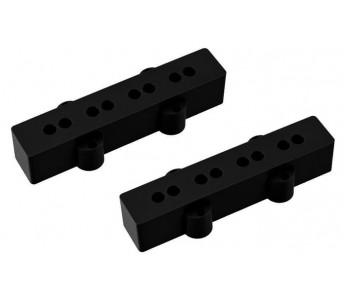 Allparts Pickup Covers Set  J-Bass® Black