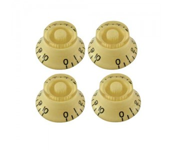 Guitar Patrol - Virgo Bell Knob Set (4pcs) Cream