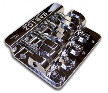 Guitar Patrol - Babicz FCH 4 Chrome Bass Bridge