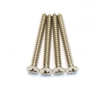 Guitar Patrol - Allparts GS-0005-001 Nickel Neckplate Screws