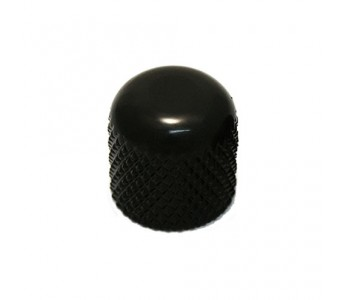 Guitar Patrol - Virgo push-on Dome Knob, metric, Black