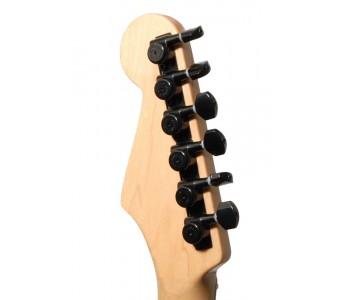 Guitar Patrol - Hipshot 6L Grip-Lock Tuner UPG KIT - Black