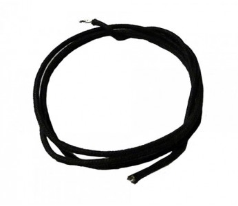 Guitar Patrol - Allparts cloth wire 25ft, black