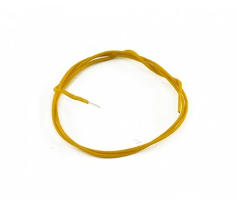 Guitar Patrol - Allparts cloth wire 25ft, yellow