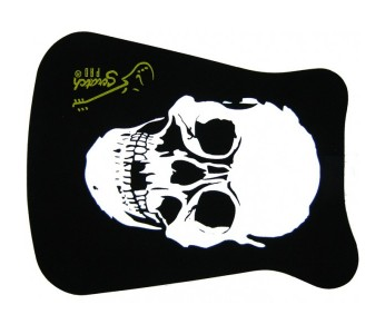 Scratch Pad USA Skull