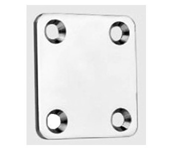 aXessories 46,5mm Neck Plate Chrome