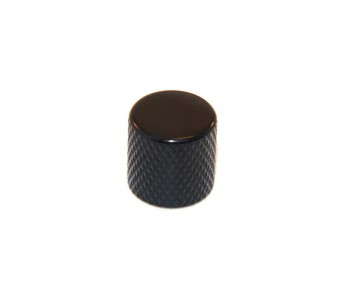 Virgo Metal Knob w/ Flat Top Black