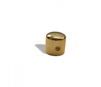 Virgo Metal Dome Knob Standard Gold