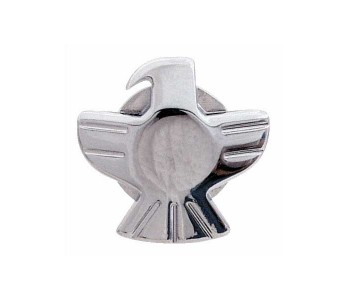 Grover Strap Button Eagle (set of 2) Chrome