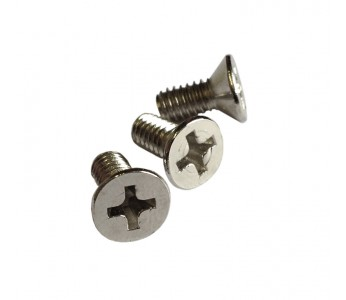 Guitar Patrol - Fender® nickel vintage bridge block screws, nickel