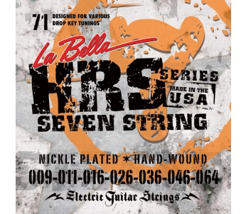 La Bella Electric Guitar Strings HRS 71 09-64