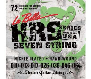 La Bella Electric Guitar Strings HRS 72 10-64