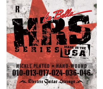 La Bella Electric Guitar Strings HRS R 10-46
