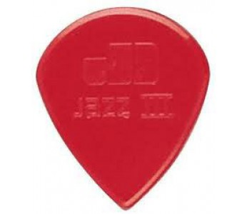 Dunlop Nylon Jazz III 1.38 Red