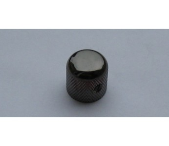Virgo Metal Dome Knob Standard Black