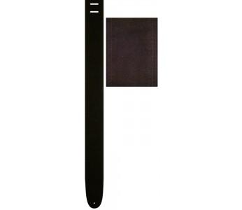 "Perri's Guitar Strap 2.5"" Suede Black"