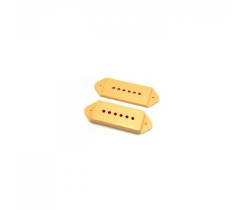 Allparts Pickup Covers Set  P-90® w/ Ears Cream