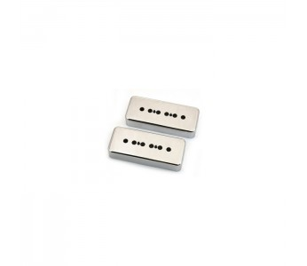 Allparts Soap Bar Pickup Covers Set Chrome