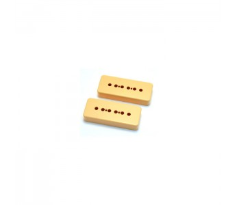Allparts Soap Bar Pickup Covers Set Cream
