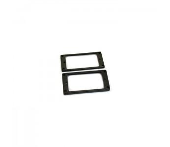 Allparts Flat Humbucker Ring Set Epiphone® Black