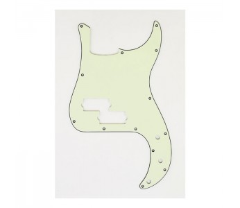 Allparts Precision Bass® Style Pickguard 3 ply Mint Green