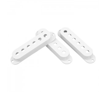 Guitar Patrol - Allparts White Strat pickup cover set