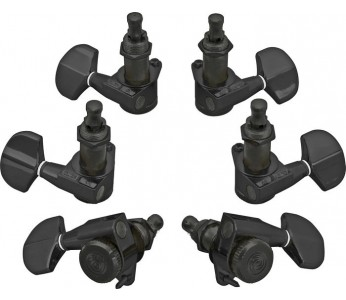 Planet Waves Auto-Trim Tuning Machines 6L Black