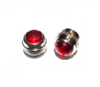 Allparts Panel Light Lens for Fender® Amps (1 pc) Red