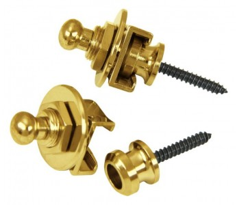 Guitar Patrol - Schaller Security Locks - Gold