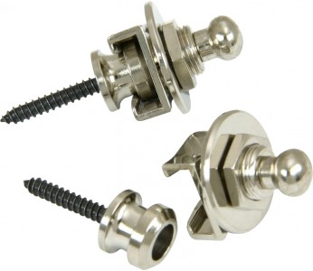 Schaller Security Locks (set of 2) Nickel