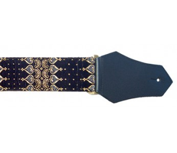Get'm Get'm Guitar Strap Indochine Black